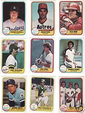The Fleer Sticker Project 1981 Fleer Baseball Card Set