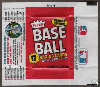 The Fleer Sticker Project 1981 Fleer Baseball Card Set