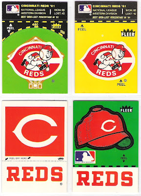 The Fleer Sticker Project 1982 Fleer Baseball Stickers