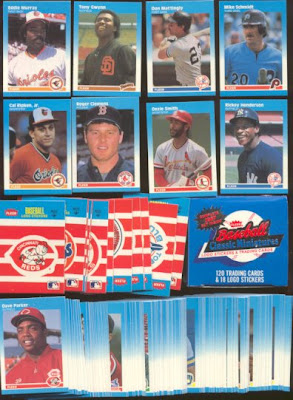 The Fleer Sticker Project 1987 Fleer Classic Mini Cards