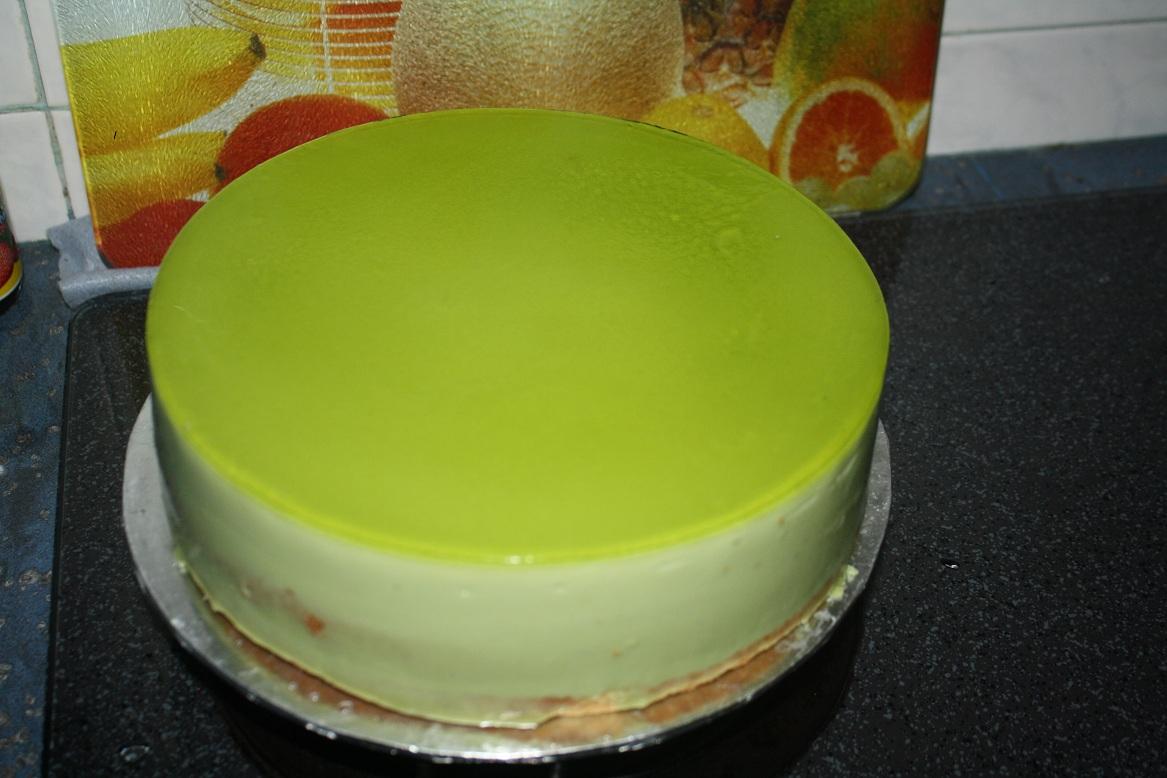 Baking Diary Pandan Kaya Layer Cake