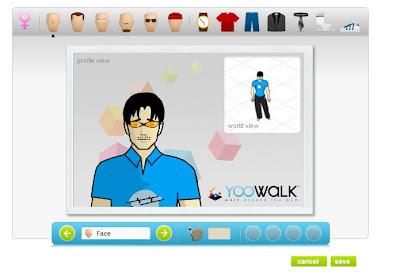 Yoowalk A Virtual Walkthrough Of The Internet 3d