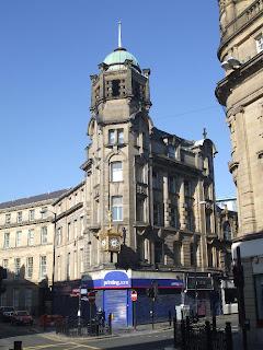 The corner of Clayton Street West