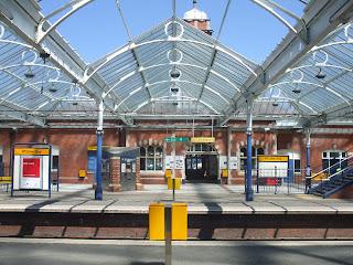 Whitley Bay Metro Station