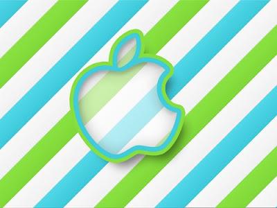 sticker wallpaper. Apple Sticker Wallpaper