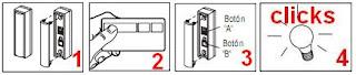 Grabar controles Merik, Chamberlain, Liftmaster y Craftsman