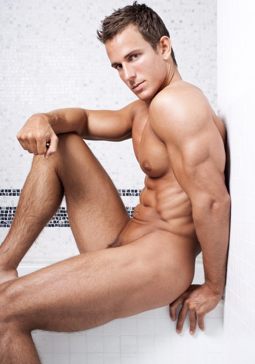 Male Models Posing Naked