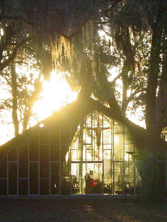 The Chapel at Honey Creek as Morning Prayer was about to begin