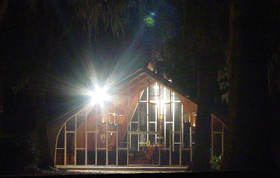 The Chapel of Our Savior by night