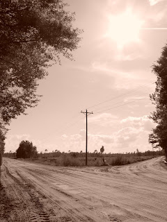 Frank's photo of a crossroads