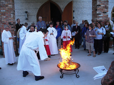 New Fire at the Easter Vigil