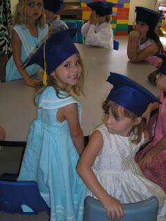 King of Peace Episcopal Day School's preschool graduates