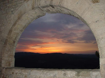 Umbrian Sunset from Todi, Italy