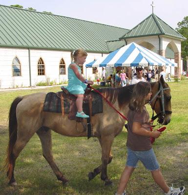 Horse rides were VERY popular