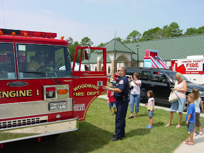 Fire truck tours