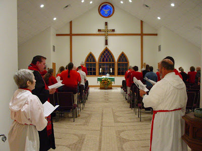 the closing hymn