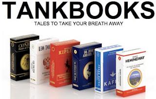 livros em forma de maços de tabaco