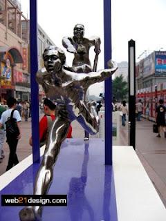 Beijing Olympic 2008 Sculpture