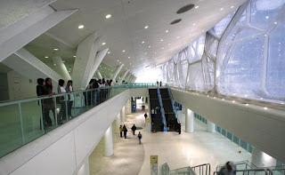 Olympics National Aquatic Center Interior