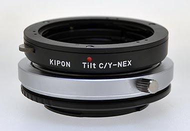 sony nex kipon tilt lens adapter
