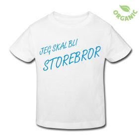 49ca3194 Kule T-skjorter Nettbutikk: Jeg skal bli storebror t-skjorte