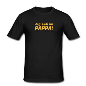0d205cd8 Kule T-skjorter Nettbutikk: T-skjorte - Jeg skal bli pappa!