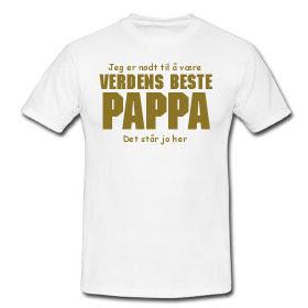 Verdens beste pappa | Kule T shirts