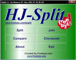tela aprenset Como Juntar partes com o HJ Split