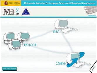Programa para crear y presentar unidades multimedias para aprender idiomas