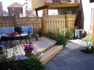 Landscape Designer: Small urban backyard turned into ... on Small Urban Patio Ideas id=63785