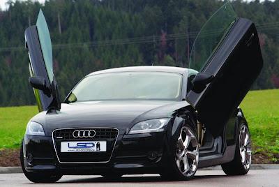 JE Design introduced the kit Audi TT 8J