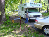 RoadAbode in Her Campsite