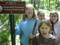 On the Trail - Almost to Hopewell Village