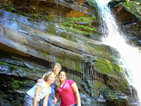 Girls at Ganoga Falls