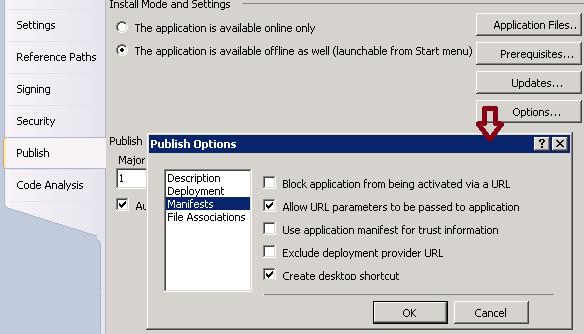 Dev Help: ClickOnce Deployment – Add Custom Desktop Icon for