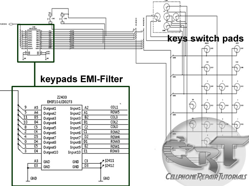 Understanding Keypads Circuit, a way to Learn How to Repair Keypad