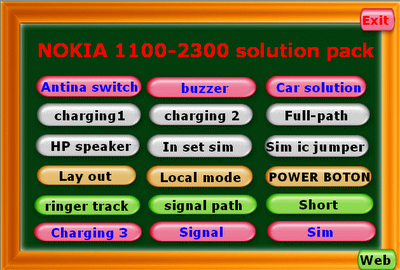 Nokia 1100, 2300, 2630 Solution in executable software ~ Free CellPhone Repair Tutorials