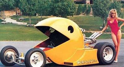 Autos Rarisimos Pacman-car