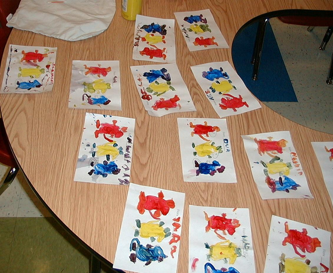 Art Amp Painting At Wbr School Mouse Paint Color With
