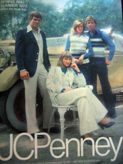 e3376bd6d A JC Penney catalog from 1977. It's not often blog fodder just falls in my  lap, but holy hell this was two solid inches of it, right there for the  taking.
