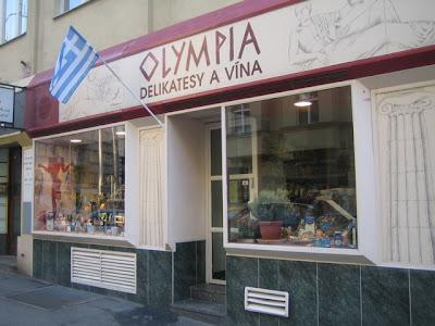 Czech Please: Olympia Delikastesy a Vína