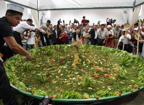 Worlds biggest food