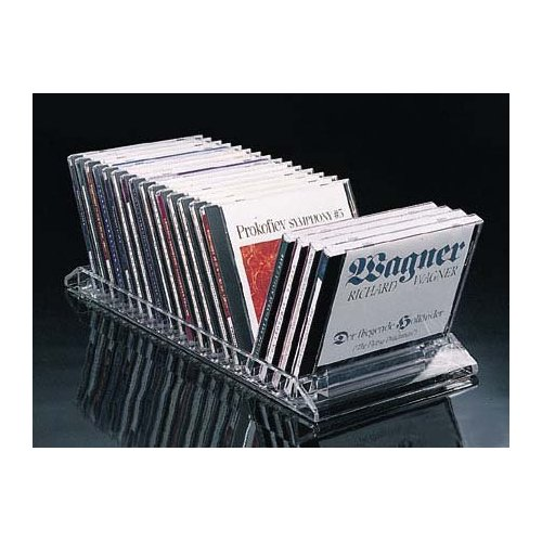 Awesome Acrylic Flip CD Rack U2013 20 CDs