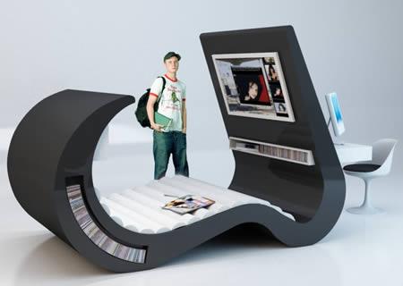 Unique desk designs
