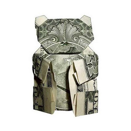 Origami Money Elephant