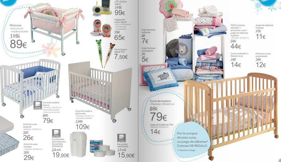 Dormitorio Muebles modernos: Cunas para bebes en carrefour