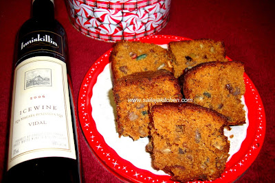 image of Rum Fruit Cake Recipe /Christmas Fruit Cake With Rum Recipe