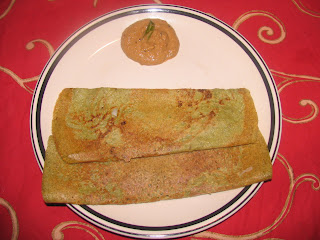 images for Pesarattu Dosa Recipe / Moong Dal Dosa