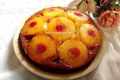 images of Pineapple Upside Down Cake Recipe / Upside-Down Pineapple Cake Recipe