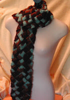 Mint and chocolate in a warm scarf? Sounds perfect, doesn't it?